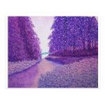 Lavendar Woods Postcard