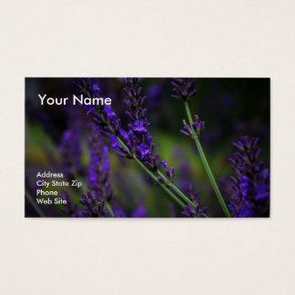 lavender1 business card