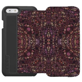 Lavender Abstract Pattern Incipio Watson™ iPhone 6 Wallet Case