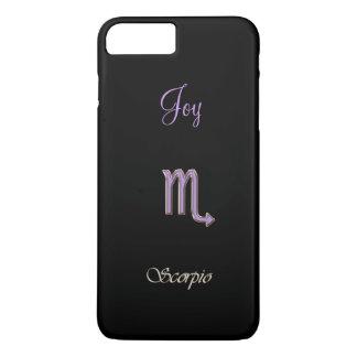 Lavender and Black Scorpio Phone 6 Plus Case