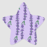 Lavender and Dot Sticker