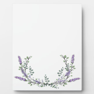 Lavender and Eucalyptus Plaque