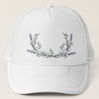 Lavender and Eucalyptus Trucker Hat