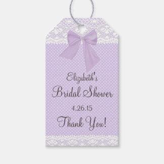 Lavender and Lace Bridal Shower Guest Favor