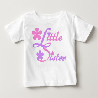 Lavender and Pink Little Sister Tshirt