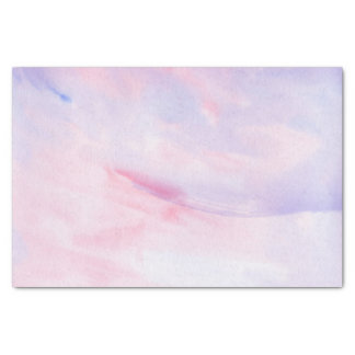 Lavender and Purple Marble Watercolor Pattern Tissue Paper