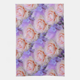 Lavender and Roses Towels
