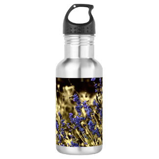 Lavender and Yellow 532 Ml Water Bottle