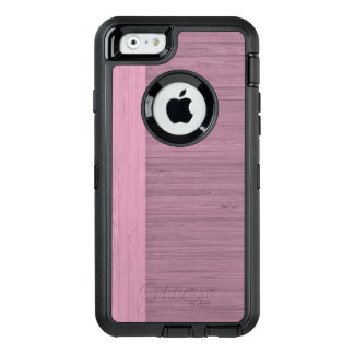 Lavender Bamboo Border Wood Grain Look OtterBox iPhone 6/6s Case
