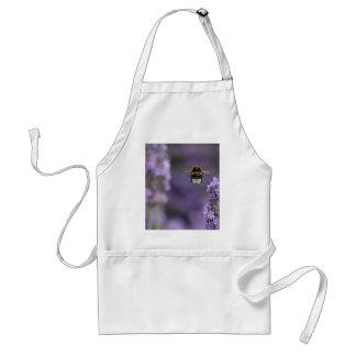 Lavender bee standard apron
