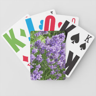 Lavender Bicycle Playing Cards