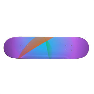 Lavender Bird Custom Skate Board