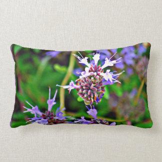 Lavender Bloom Lumbar Pillow