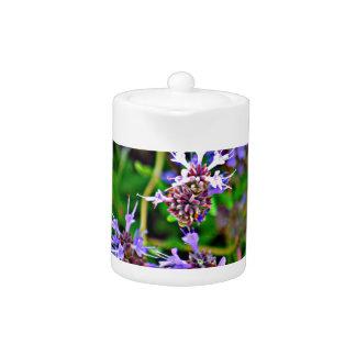 Lavender Bloom Tea Pot
