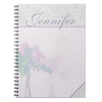 Lavender Blooms Pastel Journal