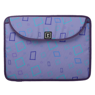 Lavender Blue Abstract Macbook Pro Flap Sleeve Sleeve For MacBook Pro