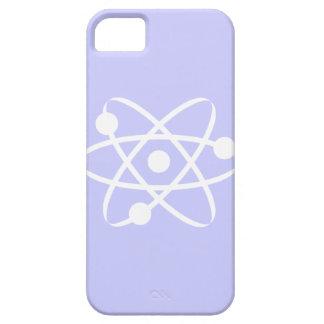 Lavender Blue Atom iPhone 5 Case