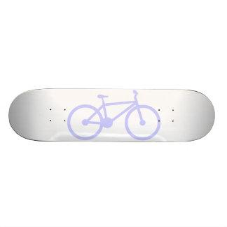 Lavender Blue Bicycle Skateboard Deck