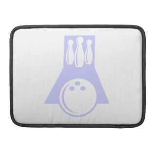 Lavender Blue Bowling Sleeve For MacBooks