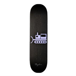 Lavender Blue Bulldozer Skate Decks