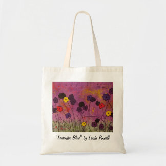 """Lavender Blue"" by Linda Powell~Original Tote"