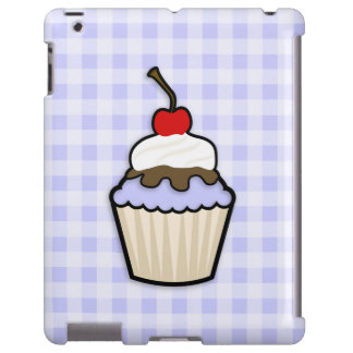 Lavender Blue Cupcake