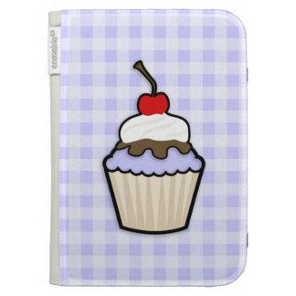 Lavender Blue Cupcake Kindle Cover