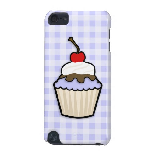 Lavender Blue Cupcake iPod Touch 5G Case