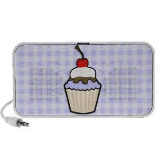 Lavender Blue Cupcake Notebook Speakers