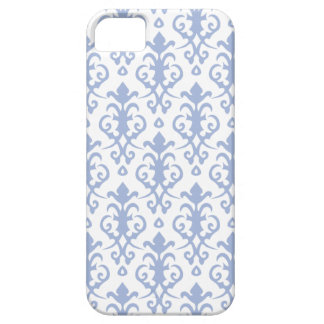 Lavender Blue Damask iPhone 5/5S Case