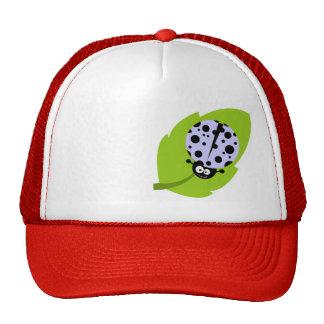 Lavender Blue Ladybug Hats