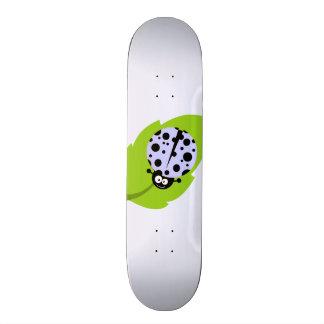 Lavender Blue Ladybug Skate Board Decks