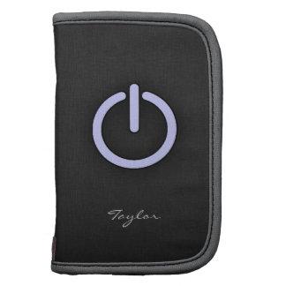 Lavender Blue Power Button Planners