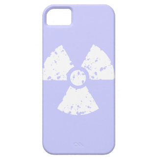 Lavender Blue Radioactive Symbol iPhone 5 Cover