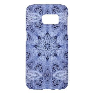 Lavender Blue Snowflake