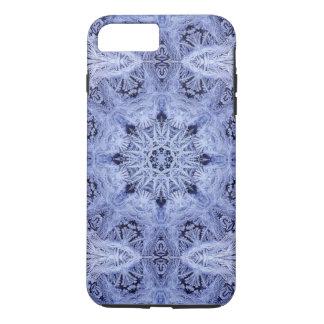 Lavender Blue Snowflake iPhone 8 Plus/7 Plus Case