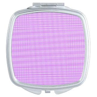 Lavender Brick Compact Mirror
