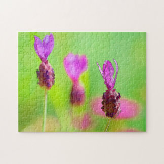 Lavender Bud Painting Jigsaw Puzzle