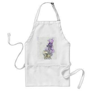 Lavender Bumblebee Pencil Apron