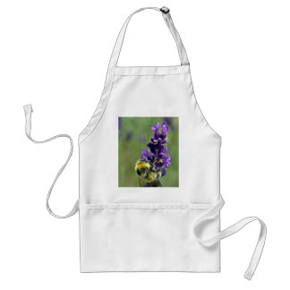 Lavender Bumblebee Watercolor Standard Apron