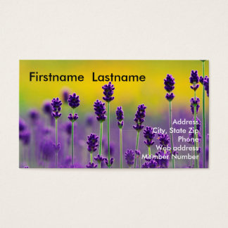 Lavender Business Card 1