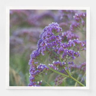 Lavender by the ocean disposable serviettes