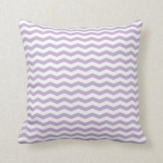 Lavender Chevron Style Throw Pillow