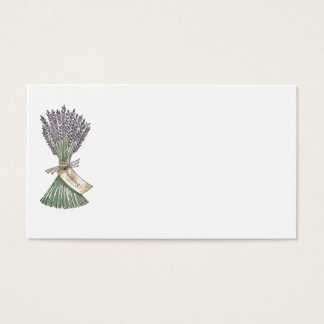Lavender Country Garden Wedding Place Name cards