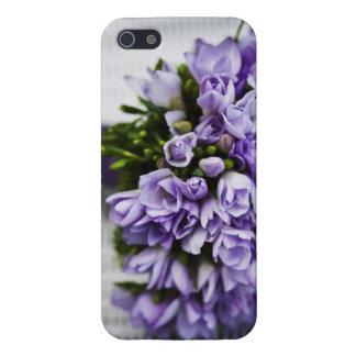 Lavender Crocus Bridal Bouquet Case For iPhone 5