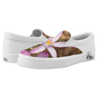 Lavender Crocus Triangle Slip On Shoes