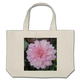 Lavender Dahlia Flower Tote Bag