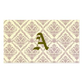 lavender,damasks,pattern,vintage,victorian,shabby pack of standard business cards