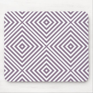 Lavender Diamond Chevron Mouse Mat