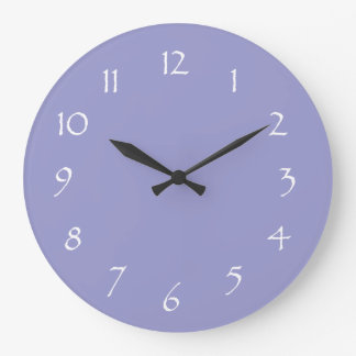 Lavender Dream Large Clock